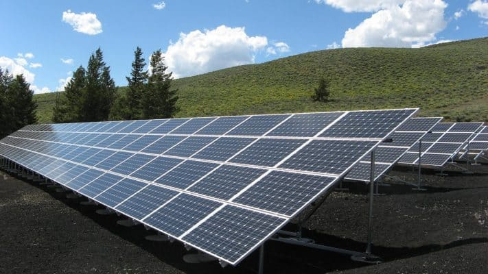 Solar Panels to promote clean energy and offset climate change
